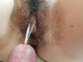 Pissing Inside Pussy