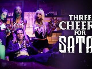 BurningAngel Three Little Cheerleaders for Satan's Cock