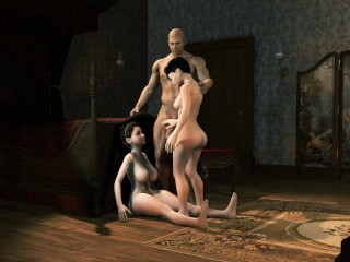 Growing girls attribute theft tall giantess...