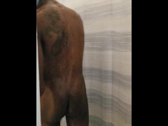 POV Spying on him in the shower