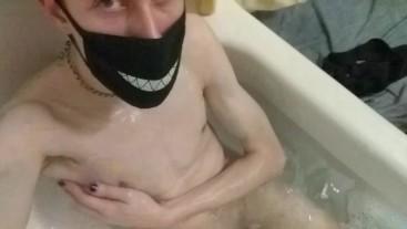 Do you wanna take a bath with me?