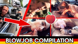 TOP 10 EPIC PUBLIC BLOWJOB GERMAN COMPILATION + CUMSHOTS! Dates66