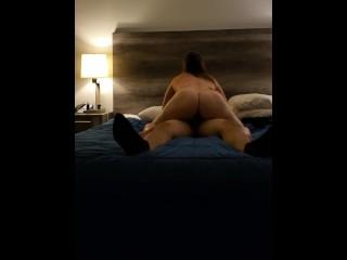 Fucked her booty in hotel in 4k uhd...