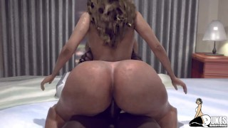 Smashing my thick booty step mom in my condo (Basketball MIlf pt 2)