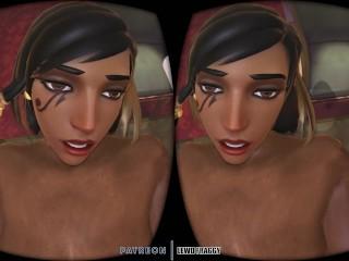 Overwatch - Pharah Getting Fucked in Waifu Simulator VR