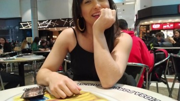 Lady Bel and Manuela Sweet - Having fun with lush in public