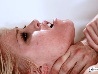 Ash hollywood has rough with james deen...