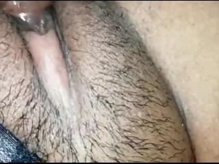 Hairy pussy feels sweet