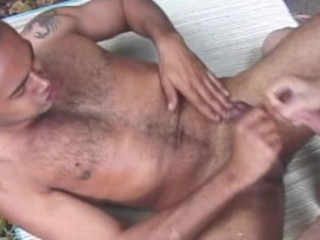 Hot white stretches gay boys tight hole...