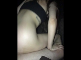 Sexy College Girl Has Romantic Outdoor Sex