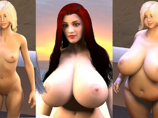 Expansion and huge chubby weight gain in a...