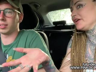 MAX FELICITAS FA IL CASTING A KORIHNA 100% ITALIANA. Video porno italiano ragazze tatuate