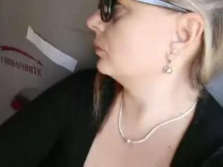Smoking in train bbw mommy...