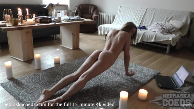 Coed naked yoga meetup louisiana - Becky berry naked yoga in my living room