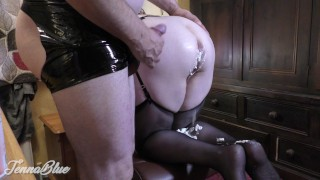 Kinky Bitch! Farting my Whipped Cream Enema into his Face and he loves it