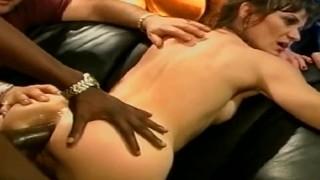 Skinny Swinger Interracial BBC Anal
