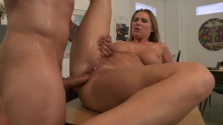 Teacher milf seduces her student