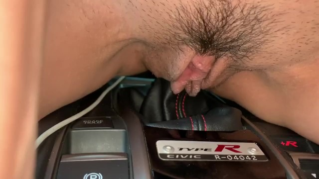 Drag strip race car types Wife riding type r shift knob