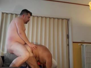 Enjoying daddys hole part 2...