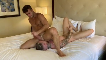 Allen King fucks Danny Gunn full length bareback