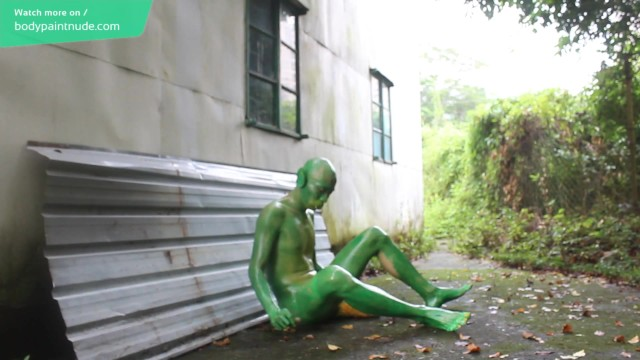 Body Art : Teen Transformed Into A Goblin