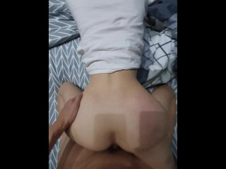 Amateur taiwan asian chinese young student doggy 4...
