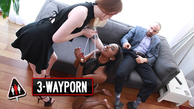 Ancient roman sex slave porn 3-way porn - ginger girl use her sex slave for a threesome