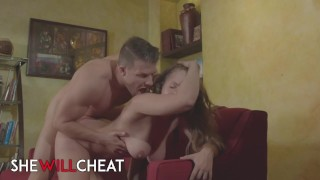 She Will Cheat - Thicc Big Tit Lena Paul Sucks Her BF