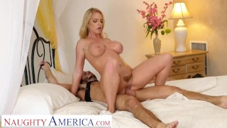 Naughty America - Rachael Cavalli fucks a son's friend