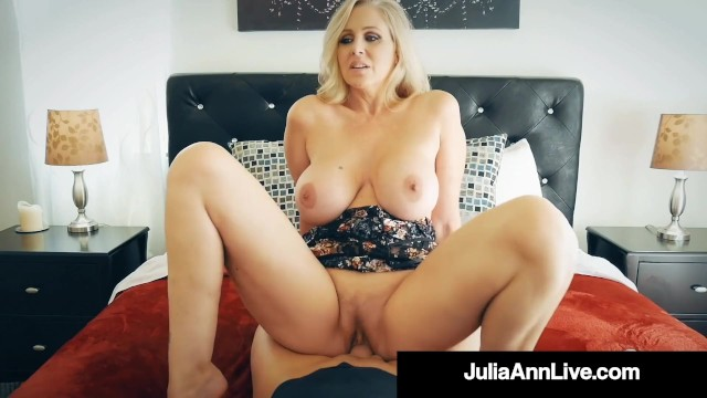 Julie ann gerhard nude galleries Busty blonde cougar julia ann banged by nervous hard cock fan