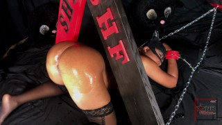 Nina Rivera gets DRILLED & CREAMPIED as Catwoman for Halloween