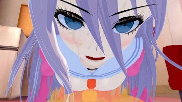 Miu Iruma Danganronpa V3 3d #hentai