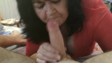 my mother-in-law sucks my dick