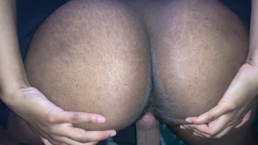 FAT Booty and CREAMY pussy