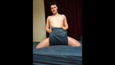 Boy on Bed 3
