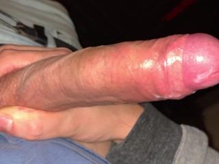 close up cumshot uncut cock jerk off solo handjob big load 4k 60fps part 2