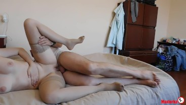 Husband fucking his wife in summer house