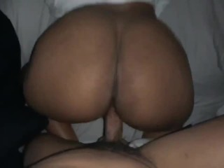 Big Booty Stripper Shaking Ass On Dick