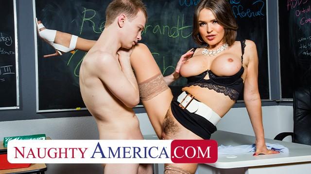 Naugty america porno gratis Naughty America Professor Krissy Lynn Takes Her Students Cock Pornhub Com
