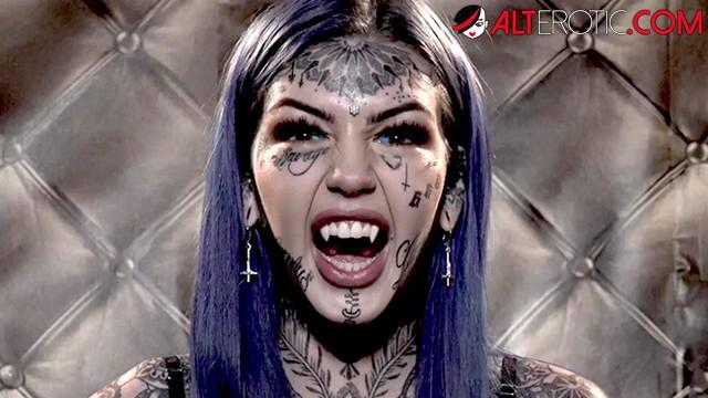 Horror erotic ghost Ho hunters - tattooed ghost amber luke wants to fuck
