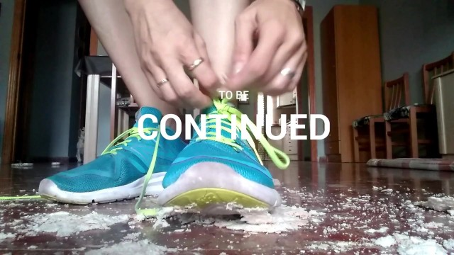 Ep. 1: Doing Exercise With My Sneakers On, Stomping On The Bread You´ll Eat 41