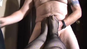 My First Footjob
