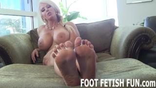 Femdom Foot Fetish And POV Feet Porn