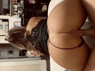 Hot Blonde with Perfect Big Ass Fucks After Date – Amateur Couple