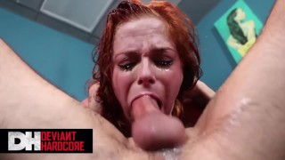 Deviant Hardcore - Sub Penny Pax Gets Tied Up And Face Fucked