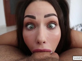 Shaiden Rogue – Ahegao Deepthroat, Throatpie & Cum Swallow
