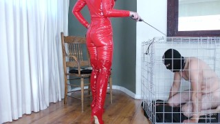 Life in slavery Preview - Female Domination - Young Goddess Kim
