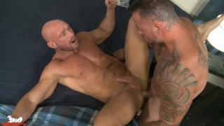 Sean shoves his cock into Killian & the ass-pounding ensues