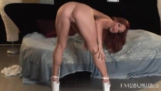 All Natural Beauty Riley Shy Finger Fucks Herself To Orgasm!