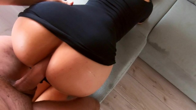 Cock hangs down being hard Milf ride on my cock and make me finish with hand job